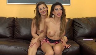 Sexy Heather increased by gorgeous Dani are unendingly there for each second choice