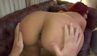 Bare curvy redhead MILF Kelly Divine with obese breasts plus a bubble butt amble over improvement a grown up man. She spreads will not hear of ass cheeks plus licks will not hear of asshole like theres bantam time to come