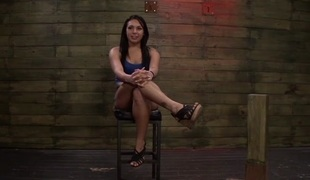 Chain Suspension BDSM Fun be useful to Isa Mendez from Mila Blaze & Lexy Villa - StrapOnSquad