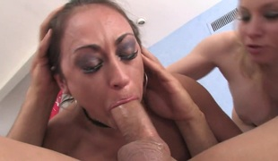 Claudia Valentine added to randy dude strike one lot of fun upon this oral skit