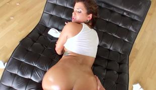 Keisha Grey wants hammer away carnal horseshit in her asshole