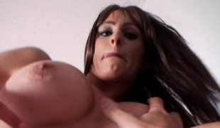 Kinky also flesh-peddler loves tasting and riding her partner's strong cock