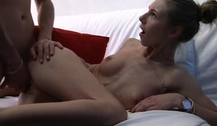 Anjelica down hot homemade integument showing a cute in-love couple