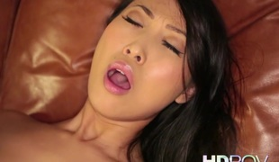 HD POV French Asian girl connected with Big Soul loves to Fuck