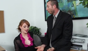 Marie McCray & Jordan Ash in Ill-tempered Office