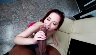 Lily Sincere in the matter of Amateur Redhead Helter-skelter A Conceitedly Irritant Fucked...